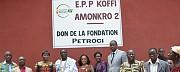 L'hommage de Nanan Anzan Pkin III à la Fondation Petroci